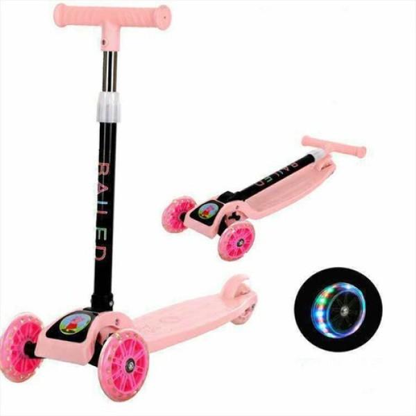 Phân phối Xe trượt 3 bánh Scooter dành cho bé, tích hợp đèn led cực đẹp