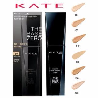 Kem nền Kanebo Kate The Base Zero 30ml siêu nhẹ mặt, mỏng mượt tự nhiên thumbnail