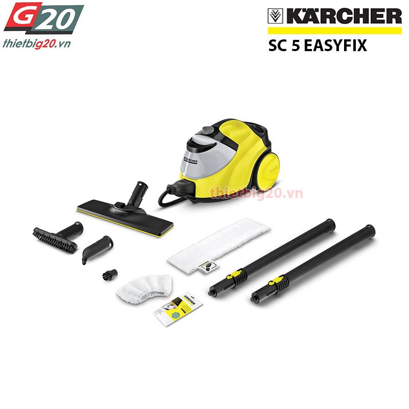 Máy phun hơi nước nóng làm sạch Karcher SC5 EasyFix EU