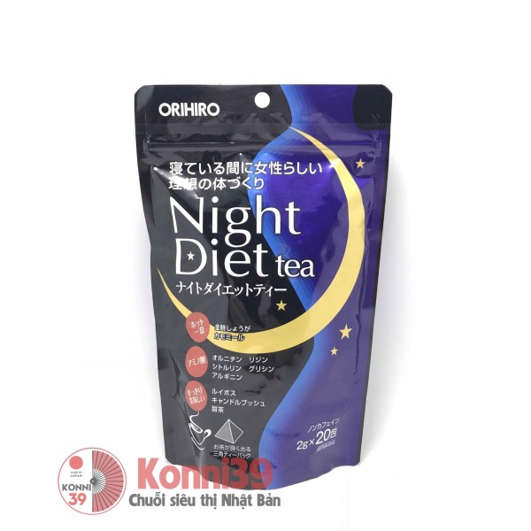 Trà giảm cân Orihiro Night Diet .