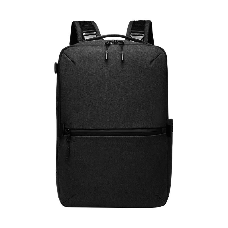 School Laptop Backpack for 15.6Inch Laptop Anti-Theft Large Travel Computer Backpack Water-Repellent Casual Daypack for Business/College/Men/Women Black