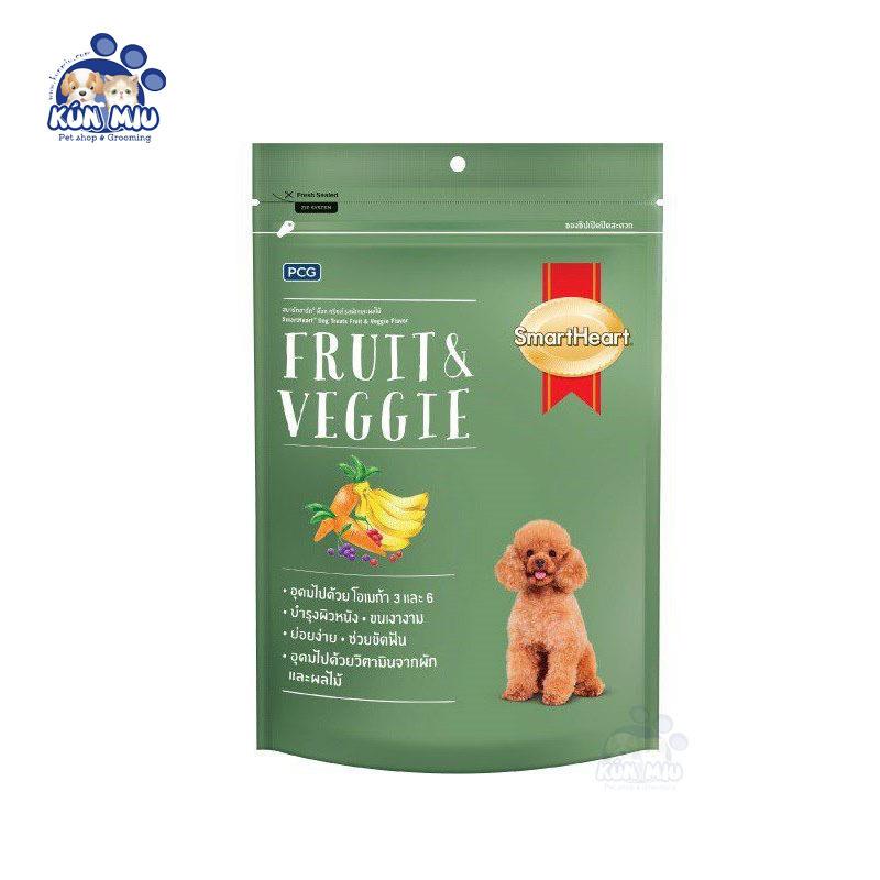 Bánh thưởng cho chó Smartheart Fruit & Veggie 100g