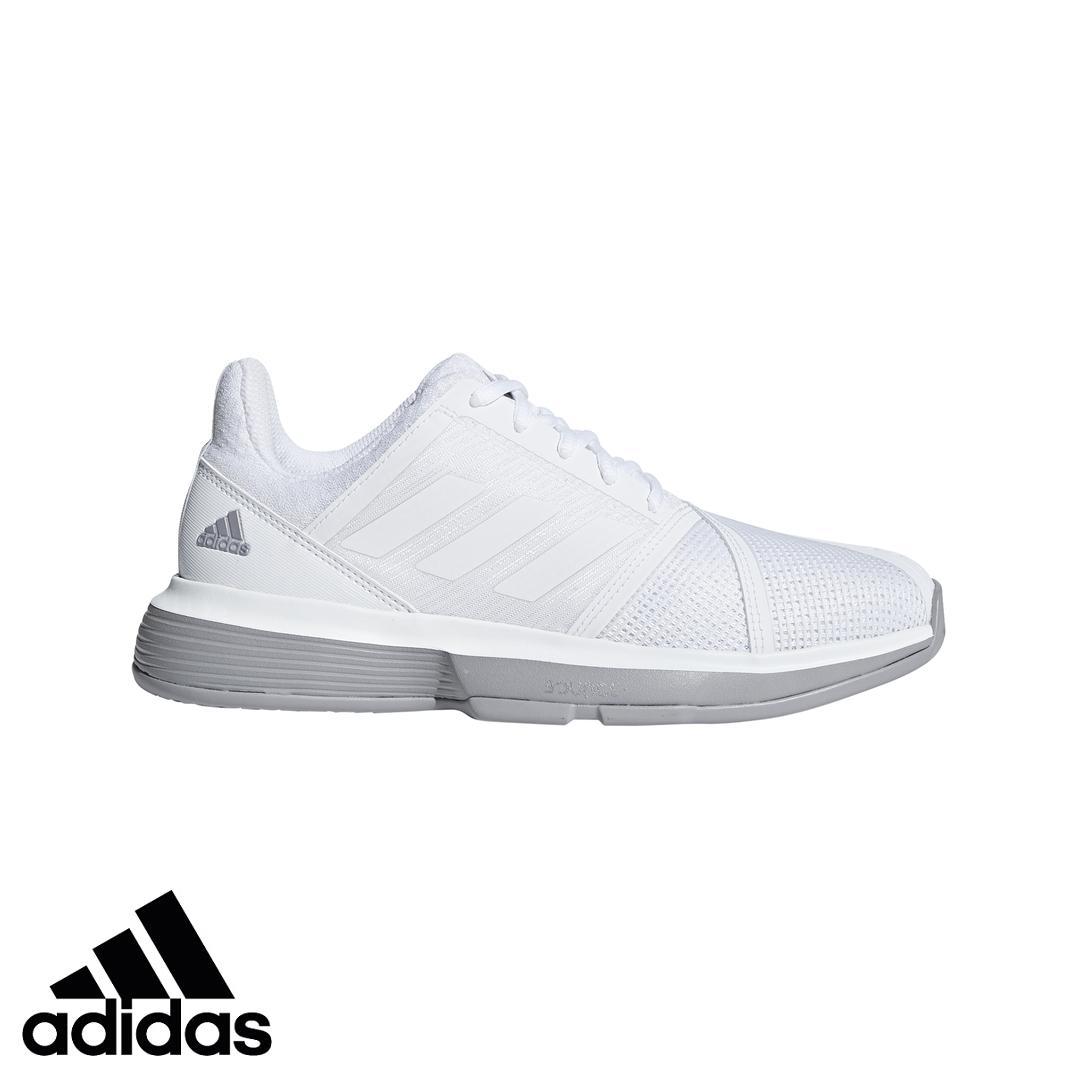 adidas Giày thể thao tennis nữ CourtJam Bounce W CG6354 Nhật Bản