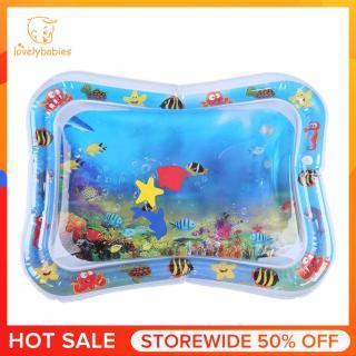 [Lovelybabies] Thảm Chơi Nước Cho Trẻ Em, Inflatable Trẻ Sơ Sinh Tummy Thời Gian Playmat Đồ Chơi [Giá xuất xưởng thấp nhất] thumbnail