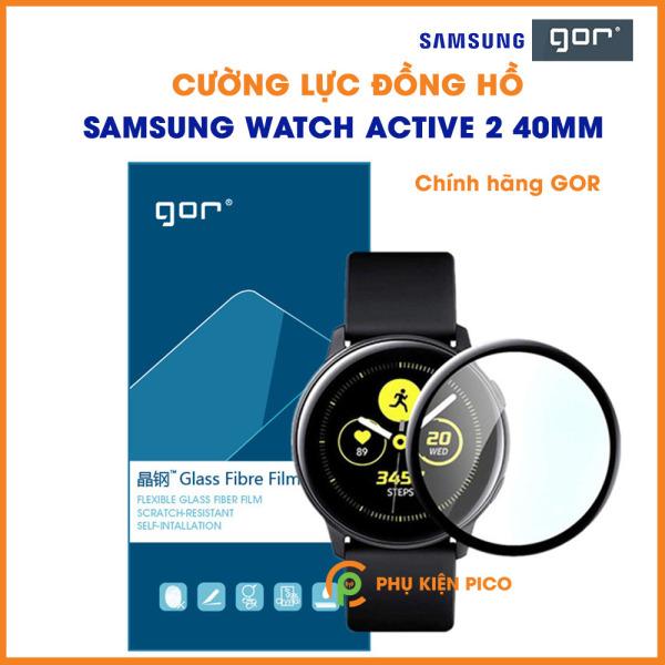 Cường lực Samsung Watch Active 2 40mm chính hãng Gor full màn hình độ cứng 9H