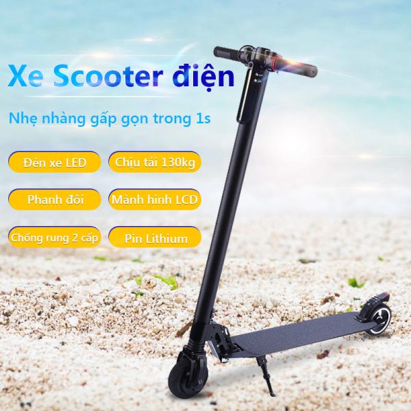 Giá bán Xe Scooter xe trượt điện mini có thể gấp thanh thiếu niên nam nữ đi làm đi học tiện lợi  Our shopping home