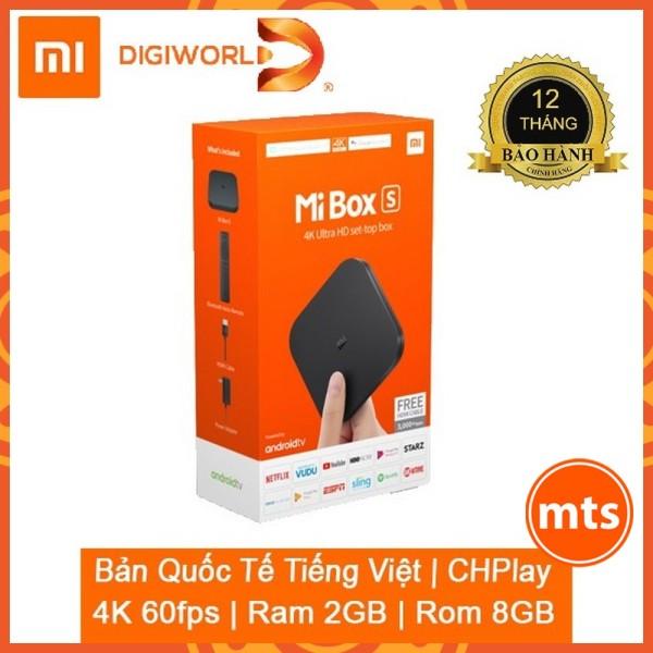 Bảng giá Đầu Android TV MIBOX S 4K QUỐC TẾ | BH 12 tháng Chính Hãng Digiworld - Minh Tín Shop