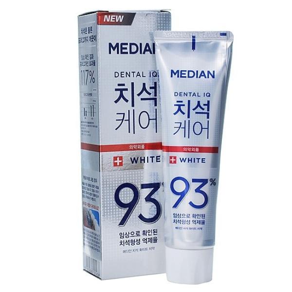 DATE MỚI-Kem Đánh Trắng Răng Gấp 5 Lần Median 93% White 120g(Hàn Quốc)