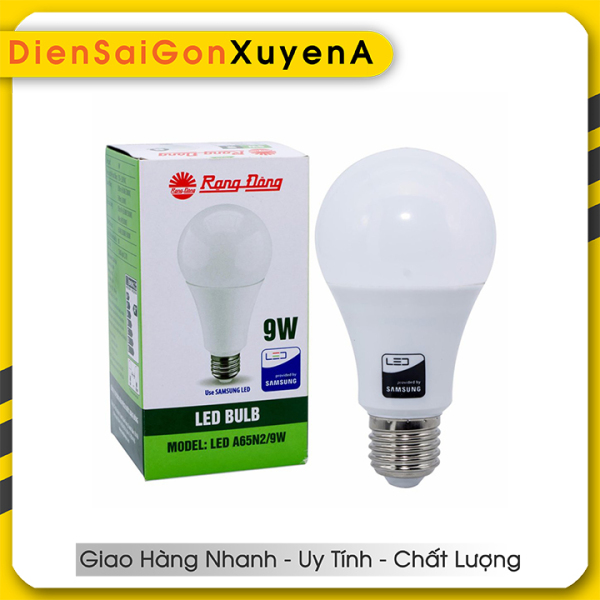 Combo 4 Bóng đèn LED Bulb 9W Rạng Đông E27 ChipLed