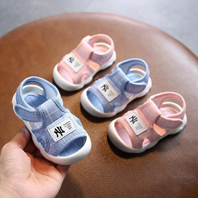 Sandal Tập Đi Chống Trơn Chông Vấp Cho Bé Trai Bé Gái NY ( 279 ) giá rẻ