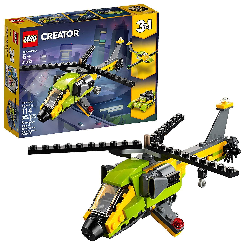 Offer Khuyến Mãi Bộ Xếp Hình LEGO 31092 Sáng Tạo 3 Trong 1 Máy Bay Trực Thăng NEW 2019 (114 Chi Tiết)
