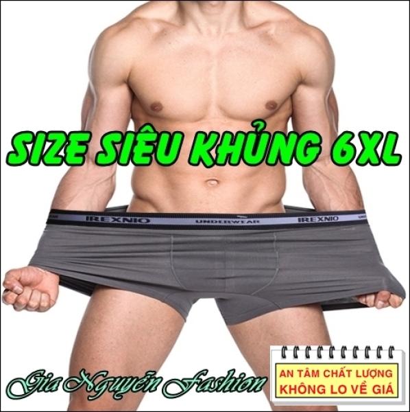 Nơi bán SIZE ĐẠI [6XL] Bộ 4 chiếc - Quần lót nam Dành riêng cho người mập