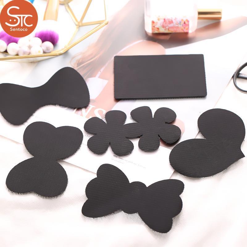 Bộ 5 túi Miếng dán tóc ,hôc trợ trang điểm (giao hình ngẫu nhiên) giá rẻ