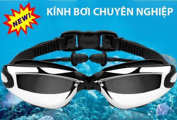 Kính Bơi Nhật Kính Bơi Chống UV Kèm Nhét Tai Cách Bơi Ếch Chuẩn, Kính Lặn Đa Năng, Cao Cấp, Mặt Nạ Lặn Biển Full Face View 180 Chất Lượng Dễ Sử Dụng , Bảo Hành Uy Tín Hàng Nhập Khẩu Cao Cấp BH 12 Tháng Model 2019
