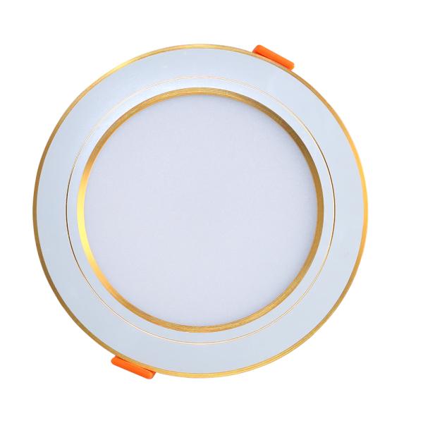 Đèn LED Âm trần Downlight Rạng Đông AT10L 90/7W- ánh sáng đơn sắc có viền