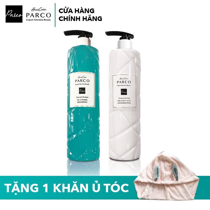 Combo Dầu Gội & Dầu Xả Parco - Dành cho tóc dầu