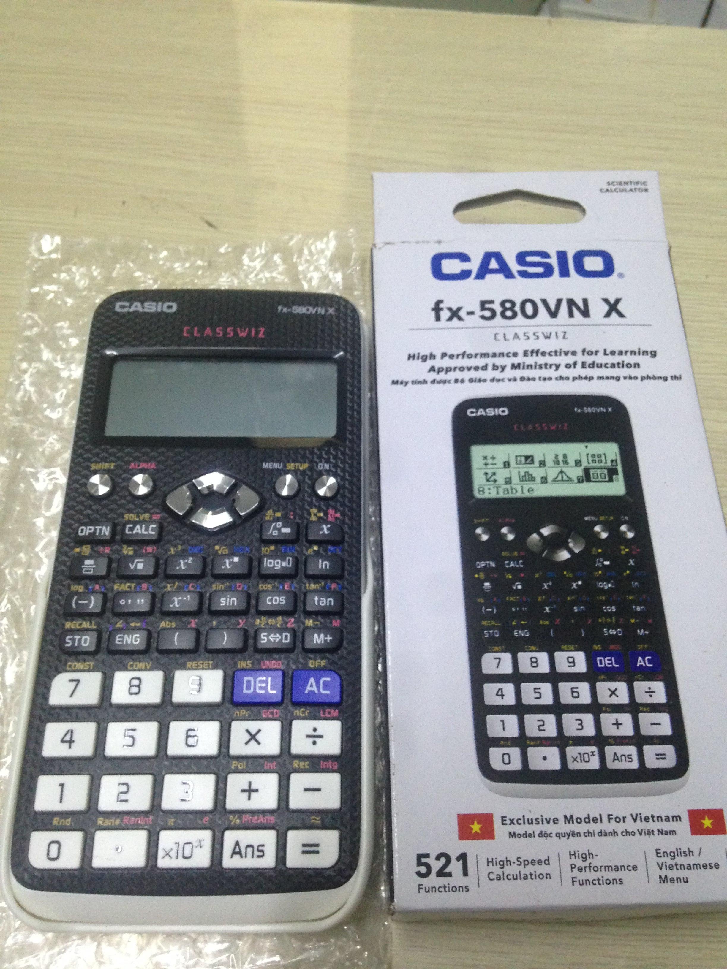 Mua [HANGTHAILAND] Máy tính CASIO FX 580VNX SIÊU GIẢM GIÁ