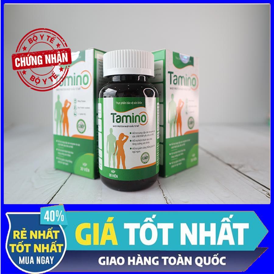 [ Combo 2 hộp ] Viên Uống Tăng Cân TAMINO -  Bổ Sung Hợp Chất Whey Protein từ Mỹ nhập khẩu