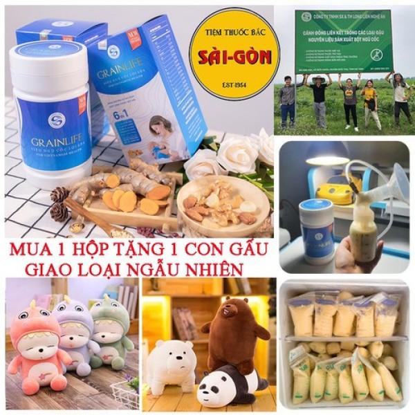 Ngũ Cốc Lợi Sữa Grainlife 500g - Sữa Về Nhiều – Giàu Dinh Dưỡng – Bé Tăng Cân Đều Đặn giá rẻ