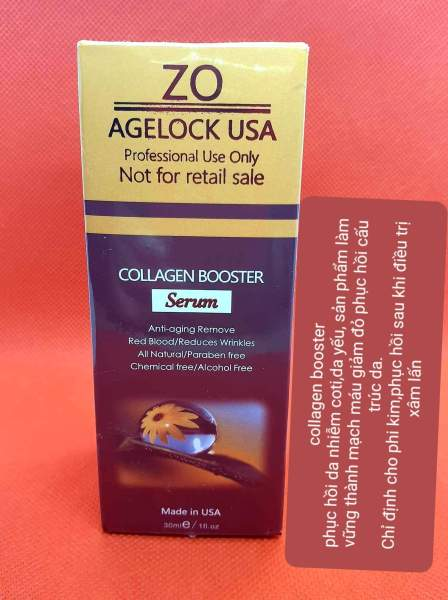 Zo Agelock USA collagen booster