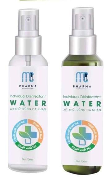 Nước rửa tay khô, xịt khử trùng cá nhân mc pharma - 120 ml