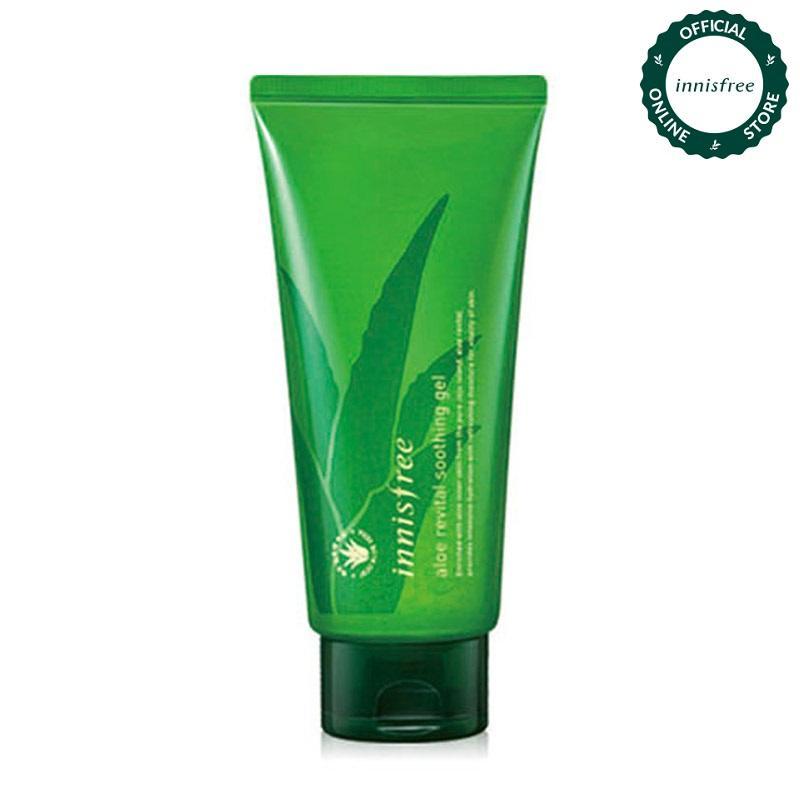 Gel dưỡng ẩm từ nha đam Innisfree Aloe Revital Smoothing Gel 300ml