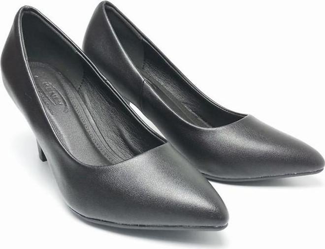 Giày Nữ Cao Gót Công Sở 7 Phân Đen Mờ B2230 giá rẻ