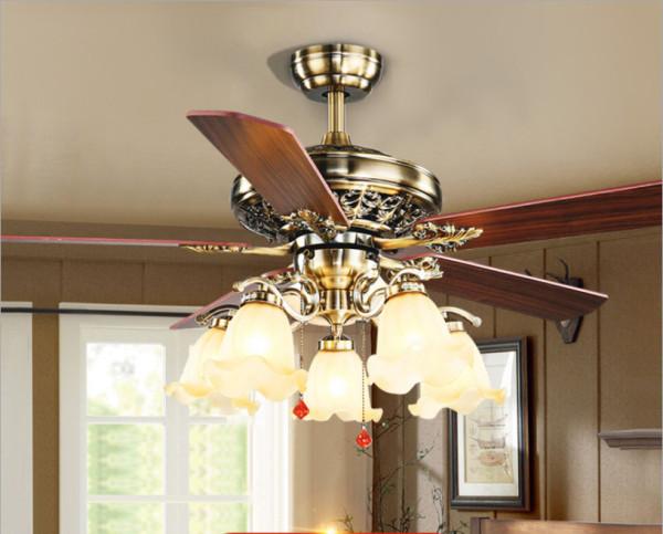 Quạt trần 598 đèn PHOENIX động cơ DC 2 chiều gió tiết kiệm điện có chức năng hút ẩm mùa đông