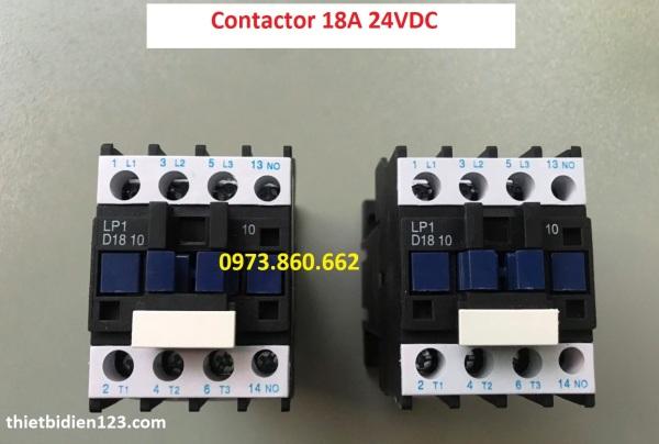 Khởi động từ contactor 24vdc - LP1 BD