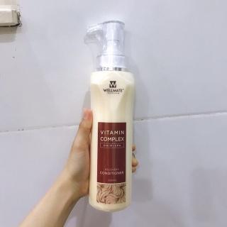 Dầu xả phục hồi tóc hư tổn Wellmate Vitamin Complex Recovery Conditioner 500ml thumbnail