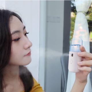 Máy phun sương xông hơi mặt làm đẹp da mini TPM.01 dung tích 30ml, chất liệu nhựa và hợp kim cao cấp, an toàn sức khỏe người sử dụng thumbnail