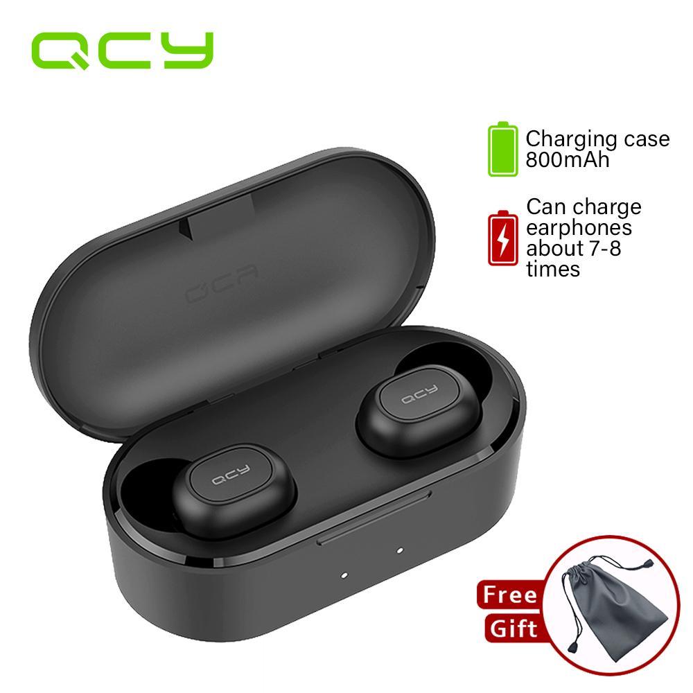QCY QS2 T2C TWS Bluetooth V5.0 True Wireless Tai Nghe 3D Stereo Không Dây Thể Thao Tai Nghe Nhét Tai...