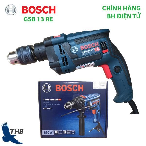 Máy khoan động lực Bosch Máy khoan gia đình GSB 13 RE Xuất xứ Malaysia Bảo hành 12 tháng Công suất 650W