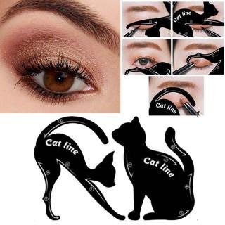 2 Khuôn Kẻ Mắt Vẽ Mắt Cat Line Thần Thánh thumbnail