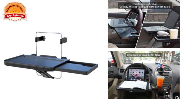 Giá để đồ, kệ để đồ xịn trên oto xe hơi CarTech - Bàn làm việc, bàn ăn trong ô tô car - Thiết kế mới