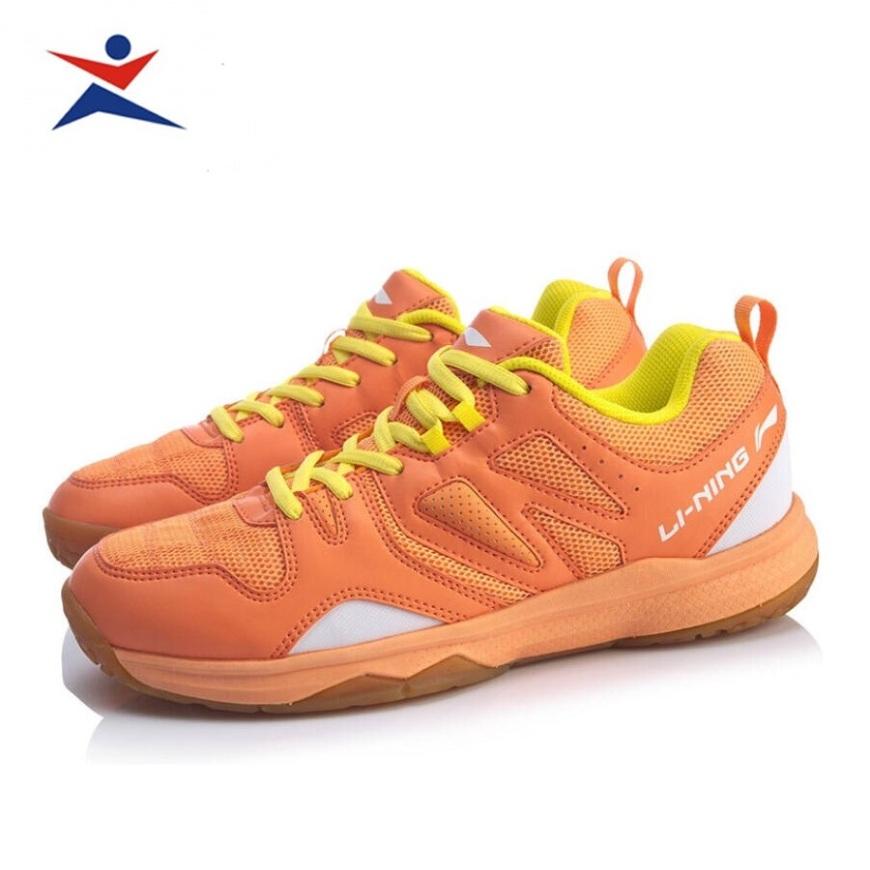 Giày cầu lông Lining nữ AYTQ038-3 mẫu mới, cao cấp - sportmaster - Giày chơi bóng chuyền - Giày thể thao nữ giá rẻ