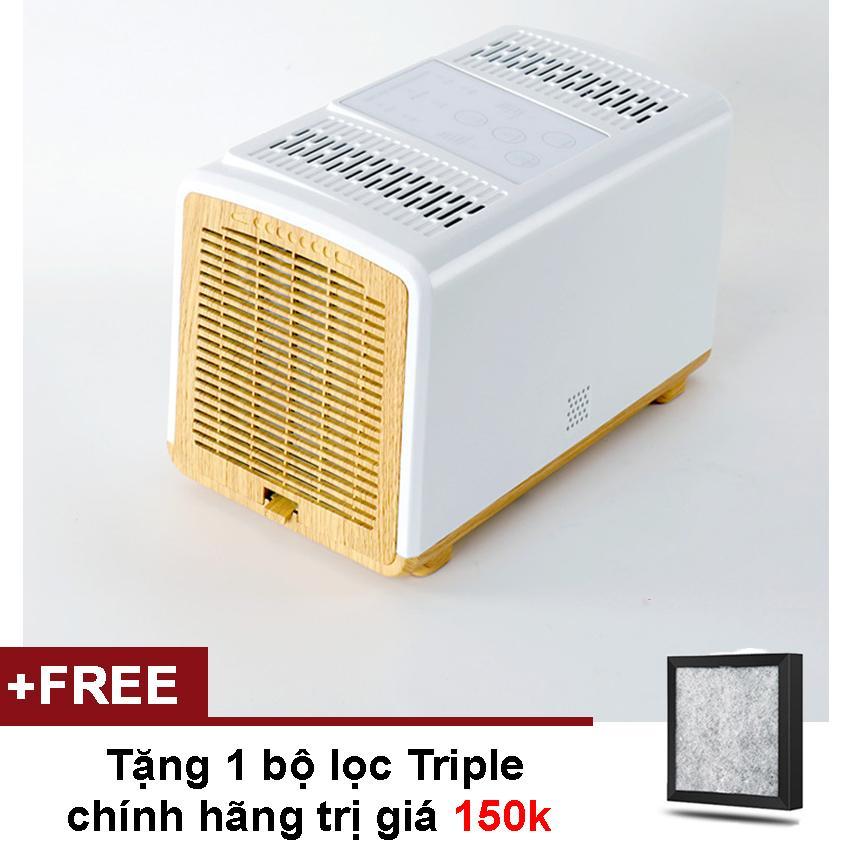 Giá Máy lọc không khí Ngọc Tuyết J020 công suất lớn với 2 bộ lọc HEPA và TRIPLE ngăn chặn vi khuẩn, nấm, khói thuốc, bụi bẩn, lông thú, tơ sợi