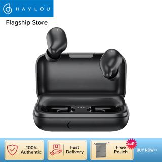 Haylou tai nghe không dây T15 có trạm sạc 2200mAh tai nghe bluetooth 5.0 thiết kế chống ồn âm thanh nổi TWS với IPX5 chống thấm hiệu quả - INTL thumbnail