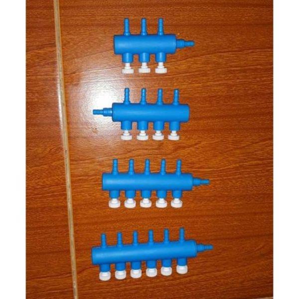 Van chia sủi oxi - Van nhựa chi khí thành nhiều đầu, chất liệu nhựa dẻo bền đẹp, thiết kế riêng biệt, tách rời từng van khí, cho phép đóng mở tùy các đầu chia