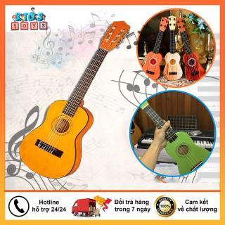 Đàn guitar mini cho bé tập nhạc [Tặng kèm vỏ đựng] đồ chơi phát nhạc âm thanh chân thực, phát triển tư duy và giáo dục trẻ em thumbnail
