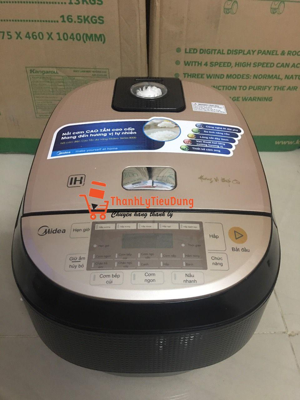 Nồi cơm điện cao tần Midea 1.5 lít MB-HS4007
