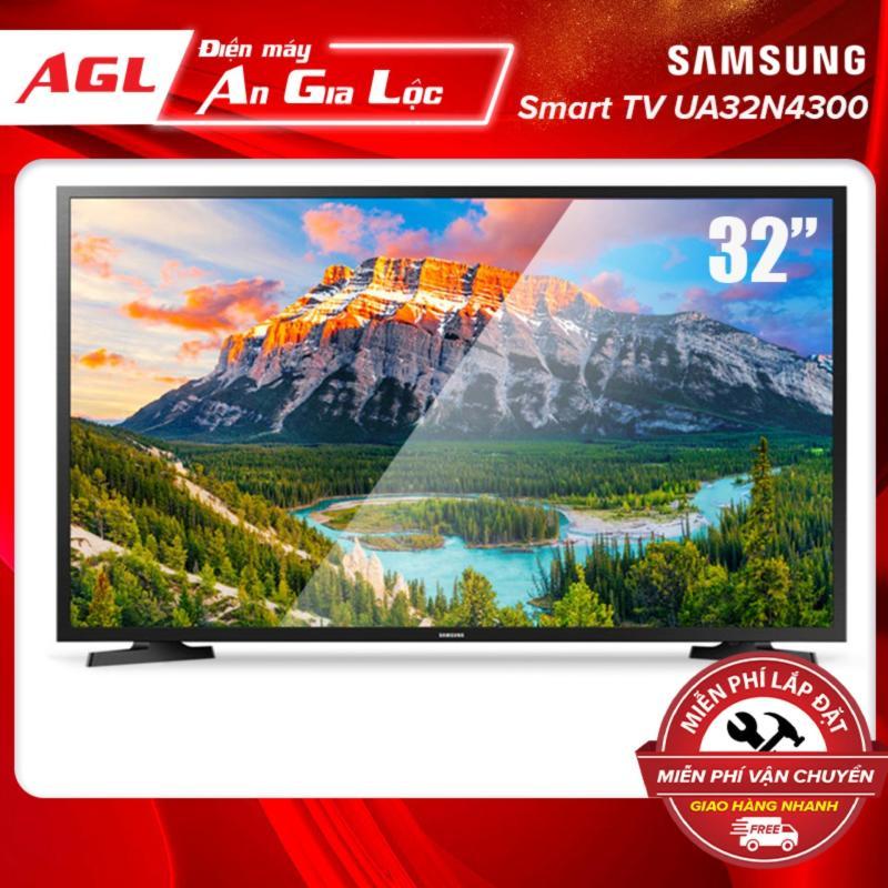 Bảng giá Smart TV Samsung HD 32 inch - Model UA32N4300AKXXV - Công nghệ Clean View lọc nhiễu, Micro Dimming Pro tăng cường độ tương phản + Điều khiển Tivi bằng điện thoại, viền màu đen- Hàng chính hãng- Bảo hành 24 tháng