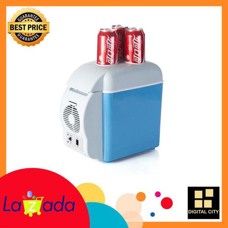 Tủ lạnh mini 2 chế độ nóng lạnh 7,5 lít - Sử dụng trong gia đình và trên ôtô - Sản phẩm thiết kế cao cấp - khoang chưa khá lớn cho các bạn làm lạnh dễ dàng.