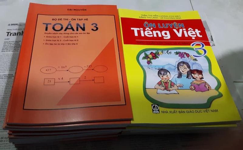 Mua Bộ đề thi Môn Toán lớp 3+ Ôn luyện Tiếng Việt lớp 3 (thi giữa học kì 1, cuối học kì 1, giữa học kì 2, cuối học kì 2)