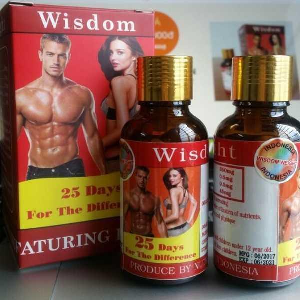 Vitamin Uống Tăng Cân Wisdom Weight - 25 viên/hộp nhập khẩu
