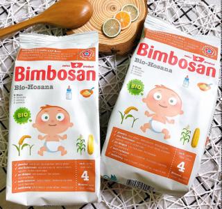 Bột dặm hữu cơ Hosana Bimbosan 300g cho bé từ 4 tháng tuổi thumbnail