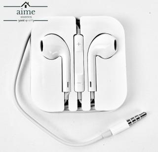 Tai Nghe Apple Jack Cắm 3.5mm, Dây Dài 1.2m - Màu Trắng - Giá Tốt tại AimeStore thumbnail