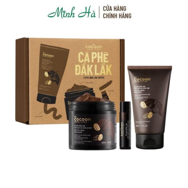 Combo Dưỡng da cà phê Đắk Lắk Cocoon - Phiên Bản Giới Hạn cao cấp