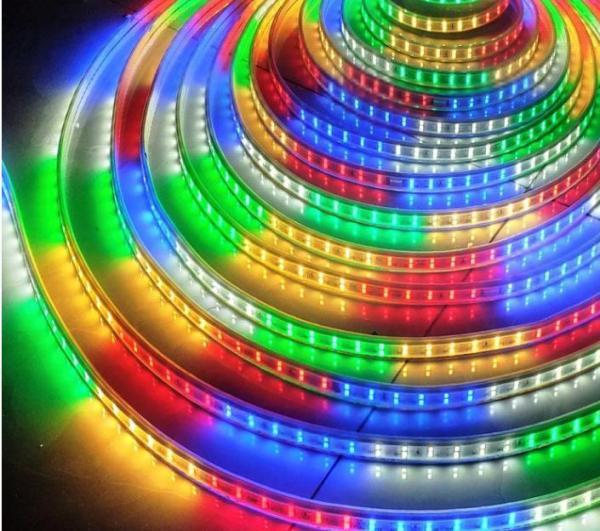 Bảng giá TP- DÂY ĐÈN LED ĐÔI 2835 ĐỦ MÀU 5 MÉT - 10 MÉT (tặng kèm dây nguồn)