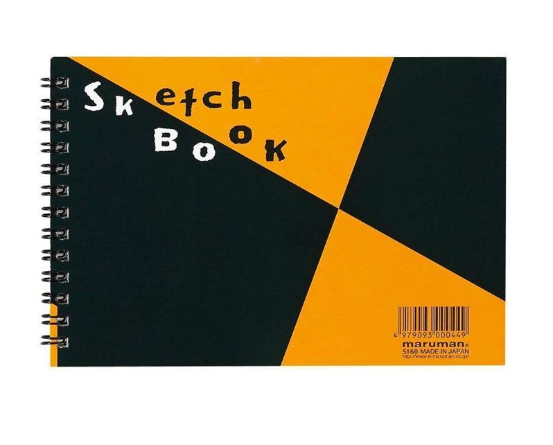 Mua Sổ vẽ sketchbook Maruman, B6, Nhật Bản, S160